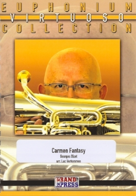 Carmen Fantasy (Piano) - Georges Bizet/arr. Luc Vertommen - awaiting new stock!