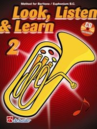 Look, Listen & Learn 2 - Baritone/Euphonium (TC)
