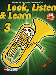 Look, Listen & Learn 3 - Baritone/Euphonium (TC)