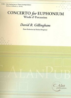 Concerto for Euphonium - David R. Gillingham
