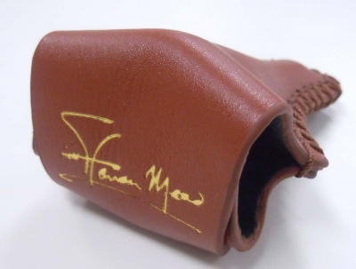 Steven Mead Autographed Leather Mouthpiece Case