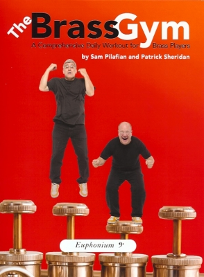 Brass Gym Method book with CD treble clef - NOW BACK IN STOCK!