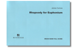 Rhapsody for Euphonium (Brass Band set) - James Curnow
