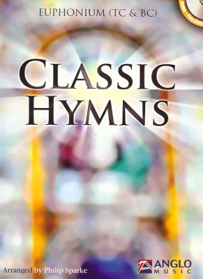 Classic Hymns for Euphonium BC/TC - Philip Sparke - Euphonium with backing CD
