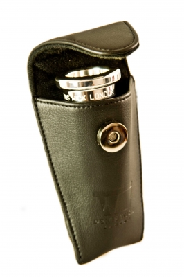 Denis Wick - Euphonium Black Leather Mouthpiece Pouch