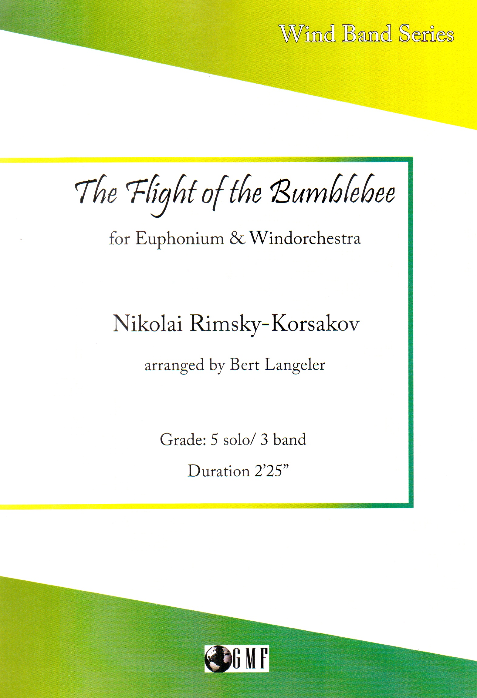 The Flight of the Bumble Bee - Euph and Wind Orchestra - Rimsky Korsakov Arr.Harry James/Langeler