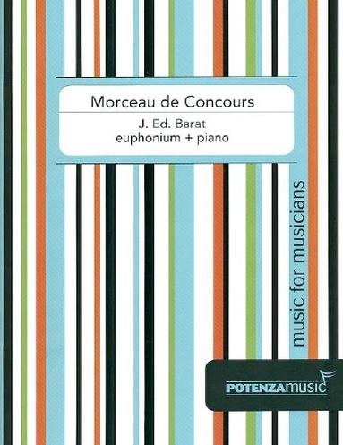 Morceau de Concours - G Ed.Barat - euphonium and piano
