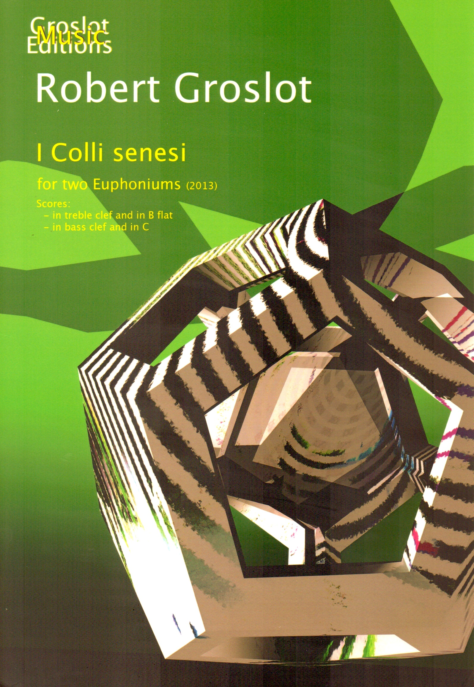 I Colli Senesi for 2 Euphonium (unaccompanied) - Robert Groslot