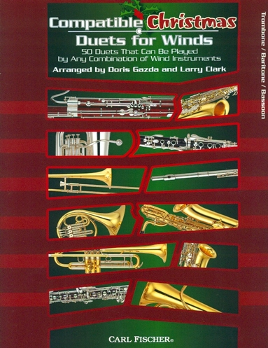 Compatible Christmas Duets for Winds (Trombone, Baritone B.C. or Bassoon)