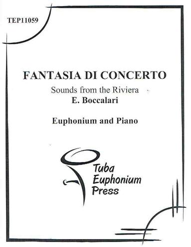 Fantasia di Concerto - Euphonium and Piano - Eduardo Boccalari