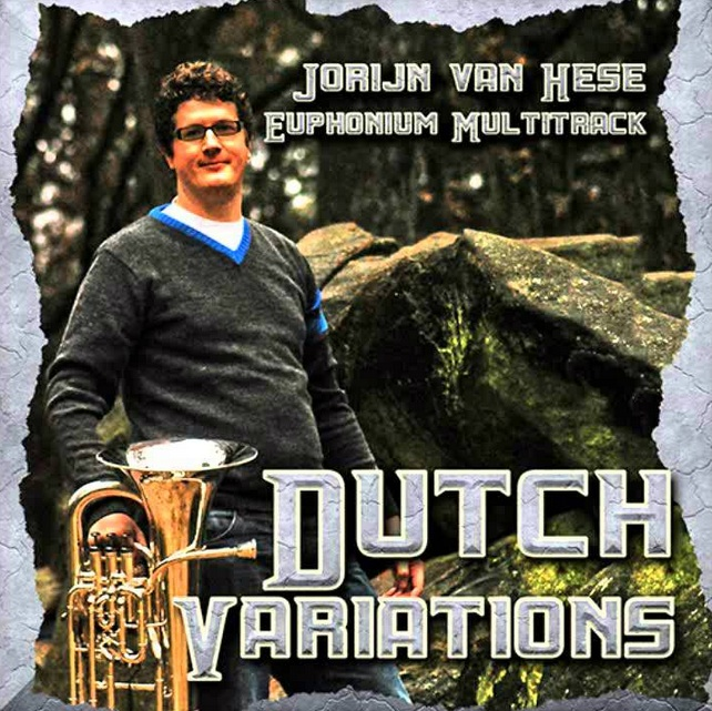 Dutch Variations - Euphonium Multitrack CD - Jorijn Van Hese