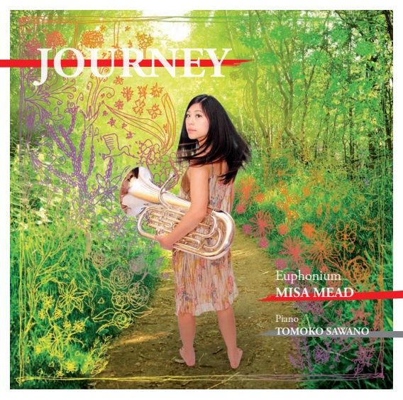 CD - Journey - Misa Mead - euphonium & Tomoko Sawano - piano