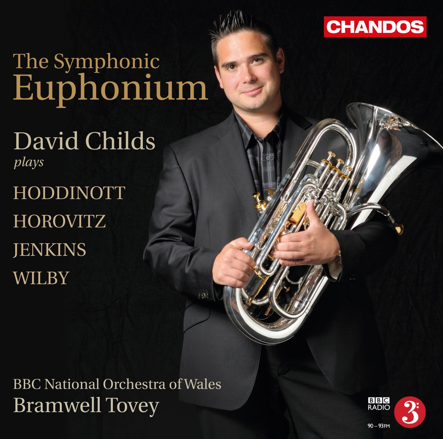 CD -The Symphonic Euphonium - David Childs and the BBC National Orchestra of Wales (Cond.Bram Tovey)
