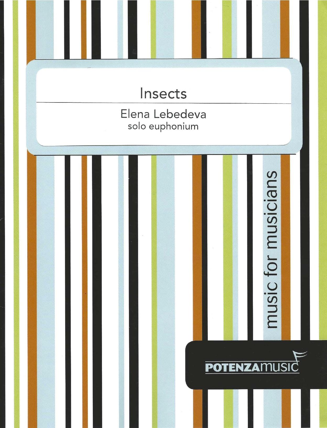 Insects - Elena Lebedeva - Solo Euphonium