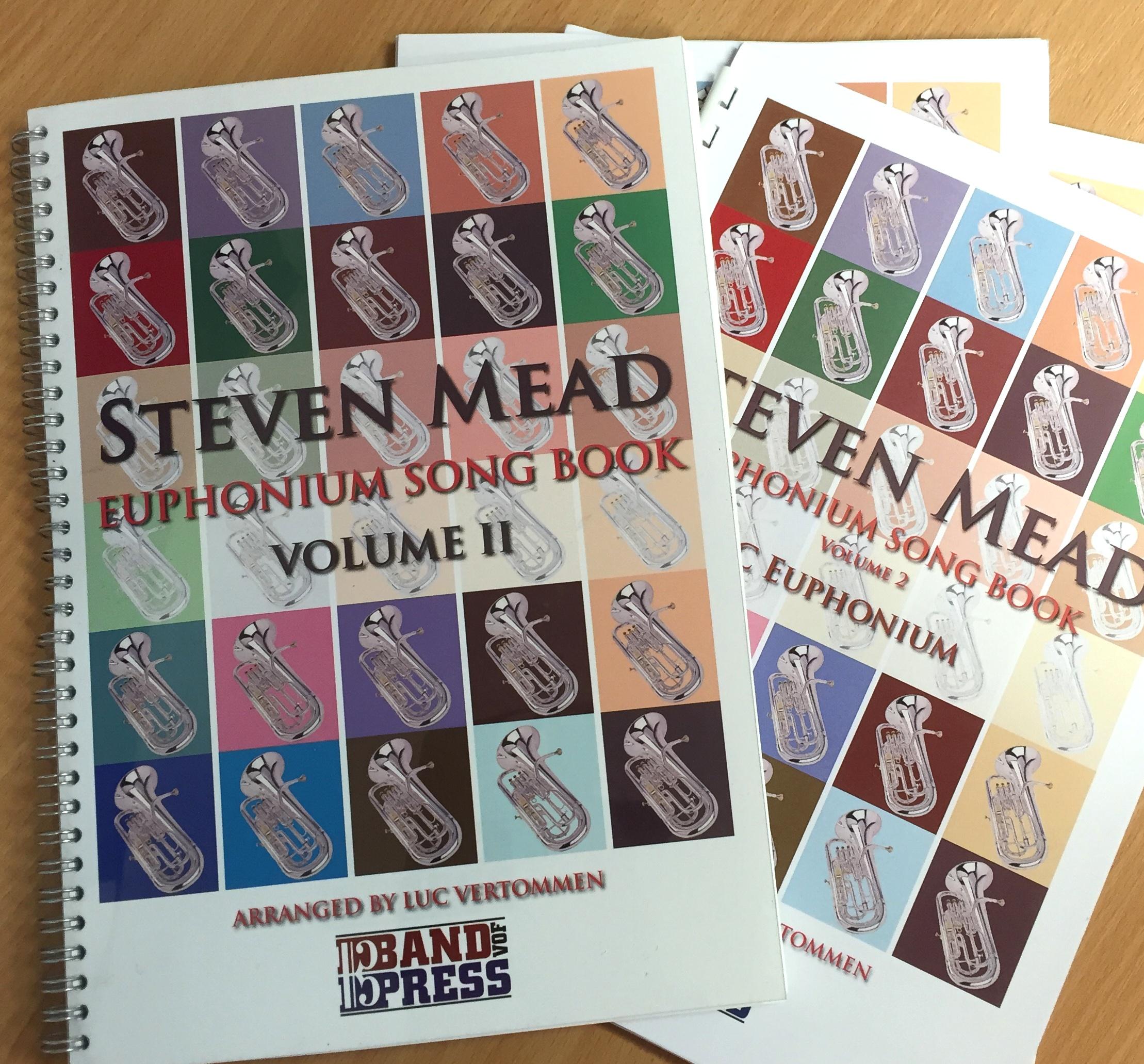 Steven Mead Euphonium Song Book Vol.2 - Arr.Luc Vertommen