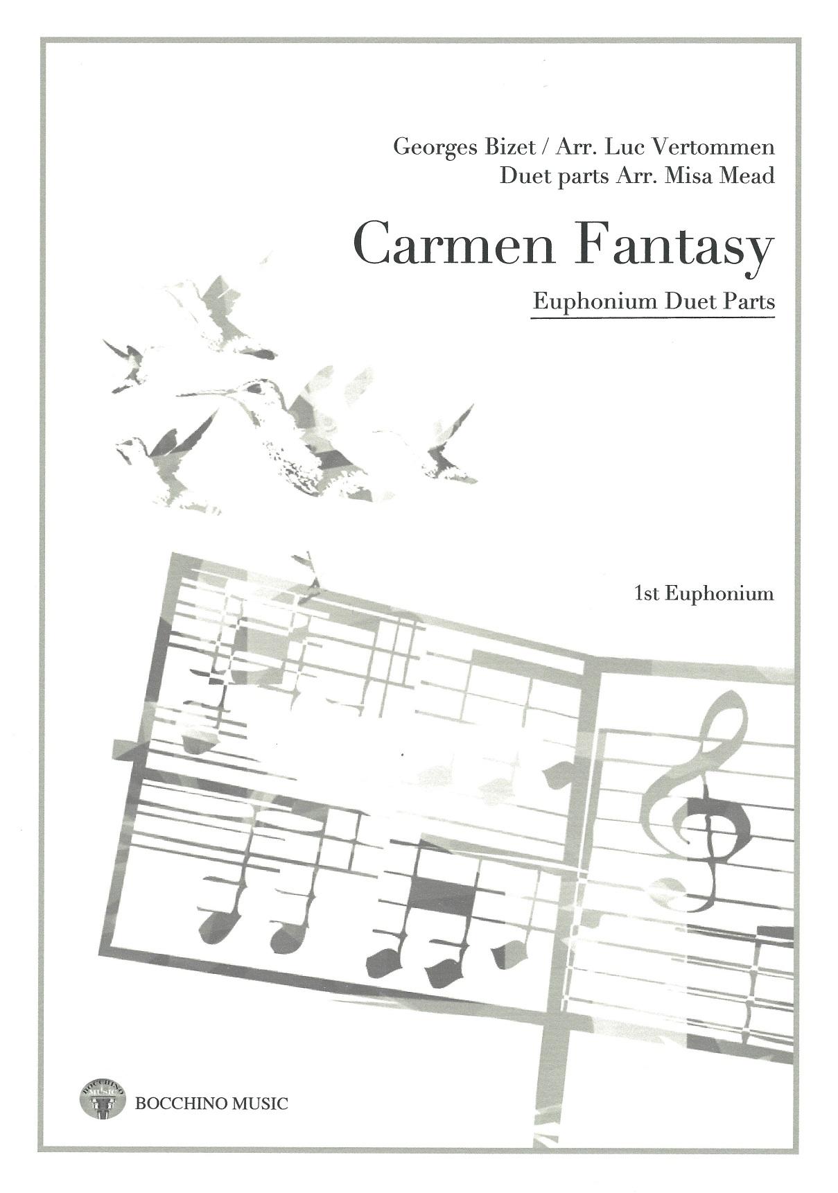 Carmen Fantasy - euphonium duet parts - George Bizet Arr. Misa Mead
