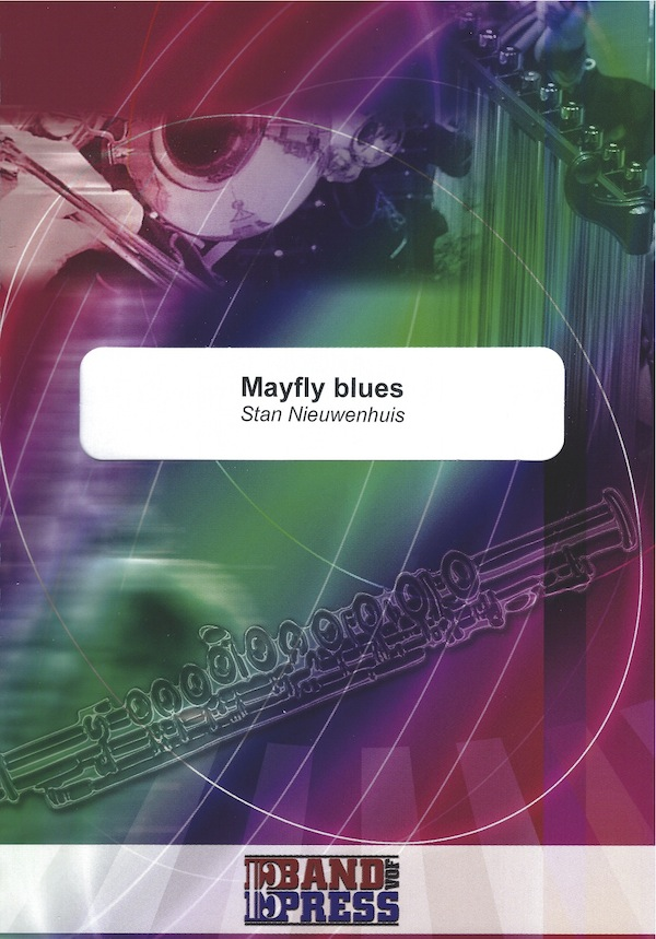 Mayfly Blues - Stan Nieuwenhuis - baritone or euphonium solo & brass band