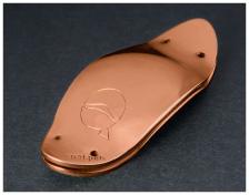 41mm lefreQue harmonic bridge plates - RED BRASS