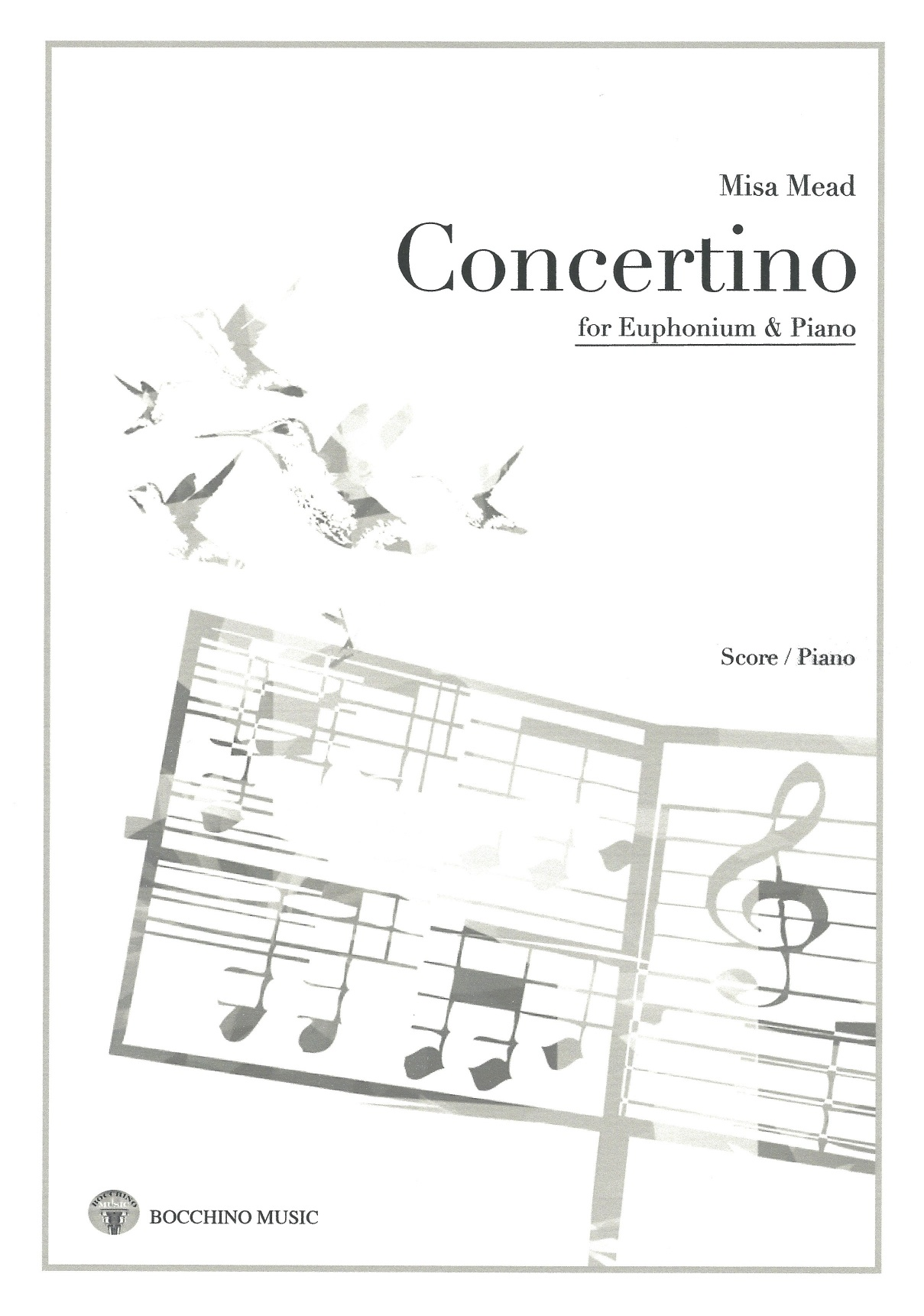 Concertino - Misa Mead - Euphonium and Piano