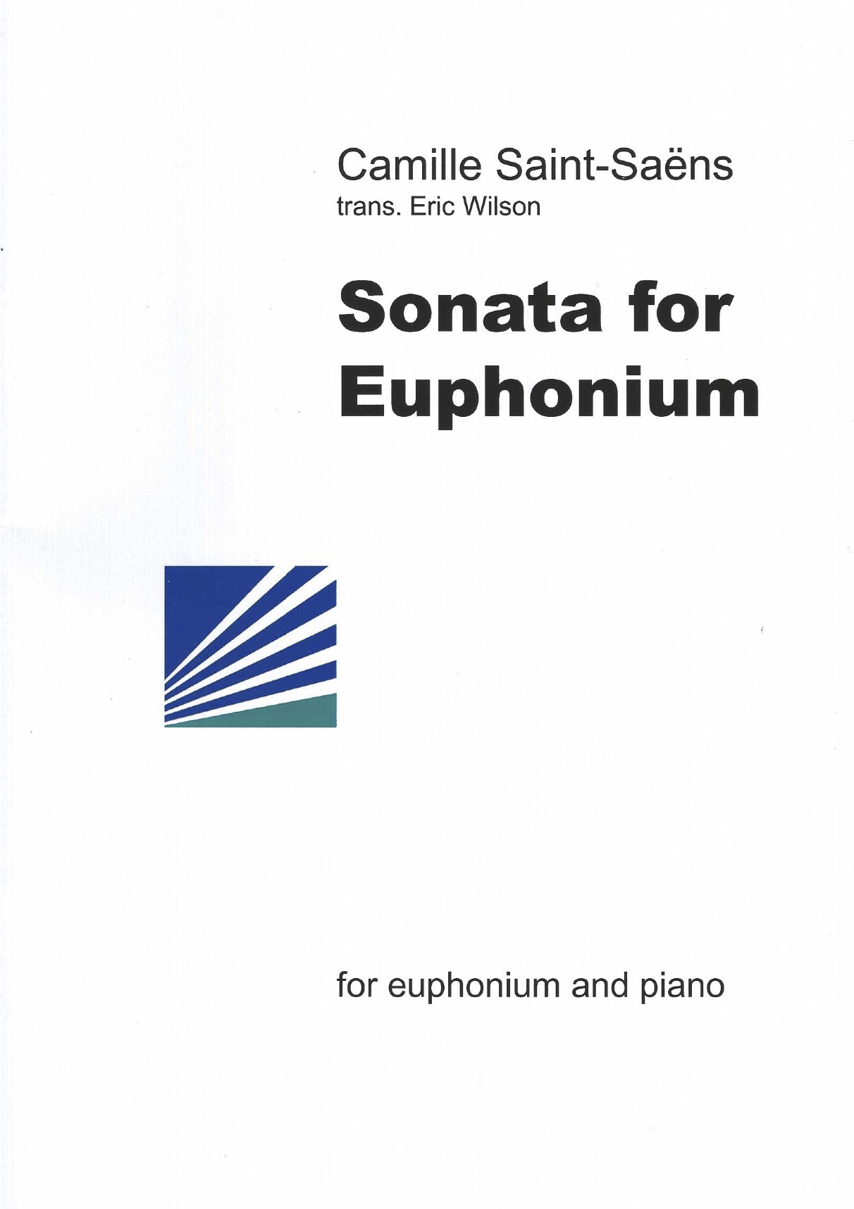 Sonata for Euphonium (originally Bassoon) - C.Saint Saens  Arr.E.Wilson- Euphonium and Piano