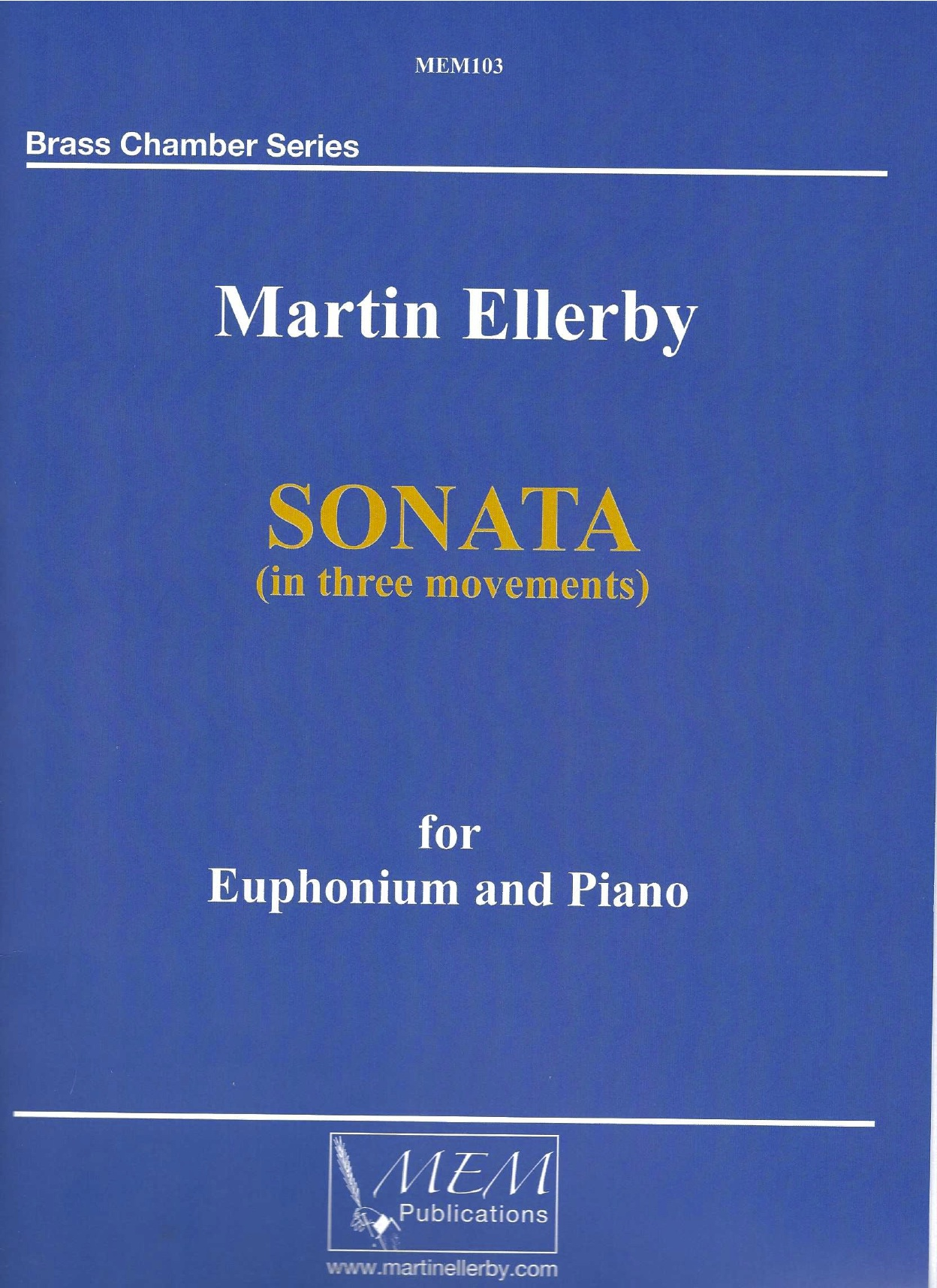 Sonata for Euphonium and Piano - Martin Ellerby