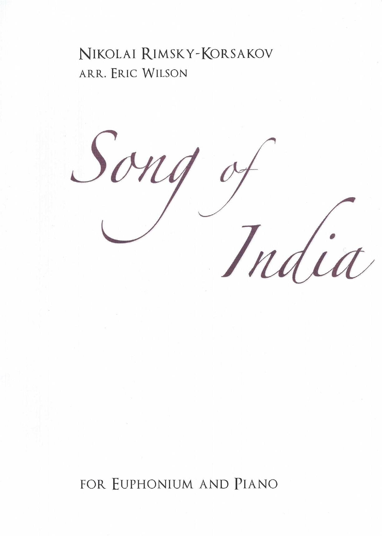 Song of India - Rimsky Korsakov Arr.E.Wilson - Euphonium and Piano