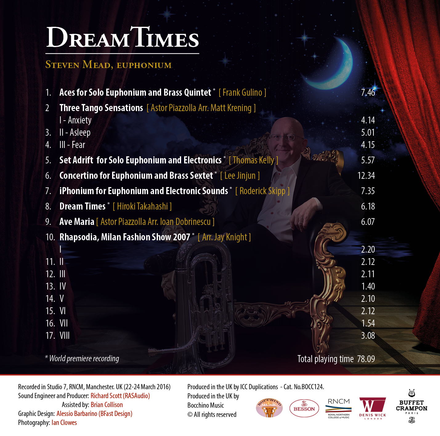 Dream Times track list