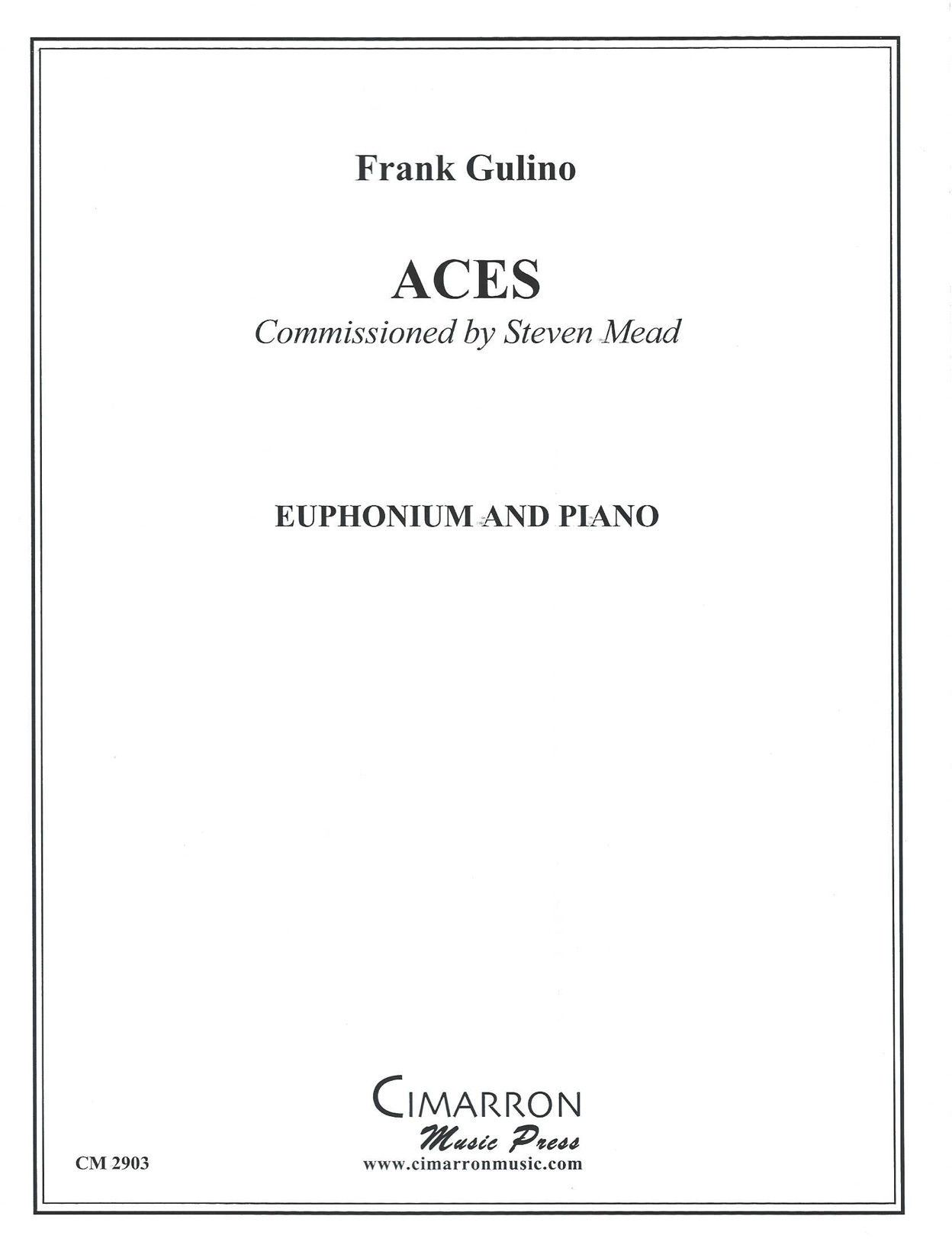 Aces - (Frank Gulino) - Euphonium solo with piano accompaniment