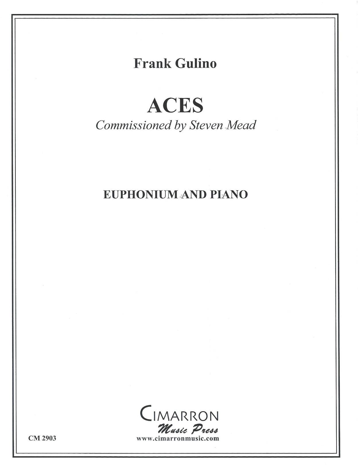 Aces - (Frank Gulino) - Euphonium solo with piano accompaniment