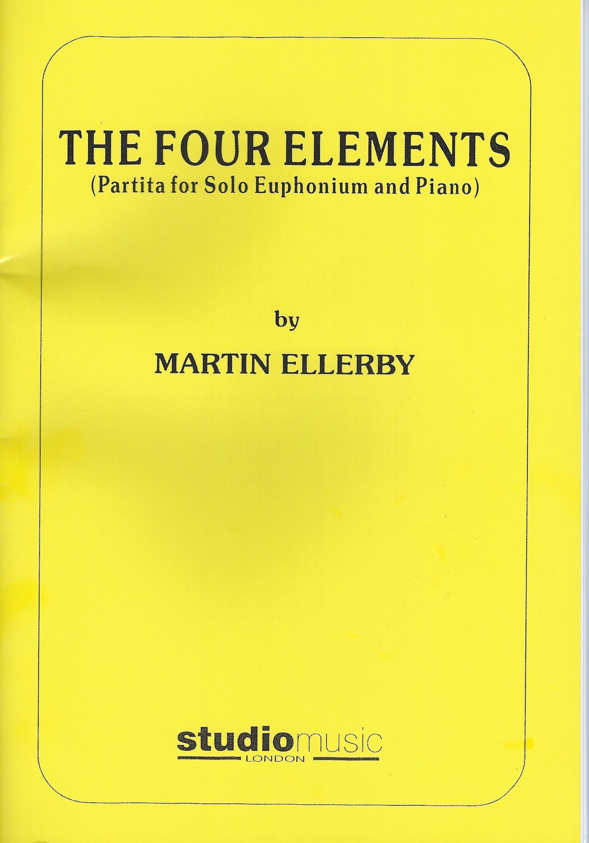 The Four Elements (Partita for Solo Euphonium and Piano) - Martin Ellerby