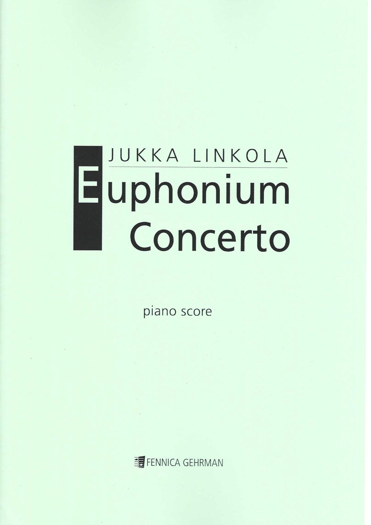 Euphonium Concerto - Yukka Linkola - Euphonium and Piano