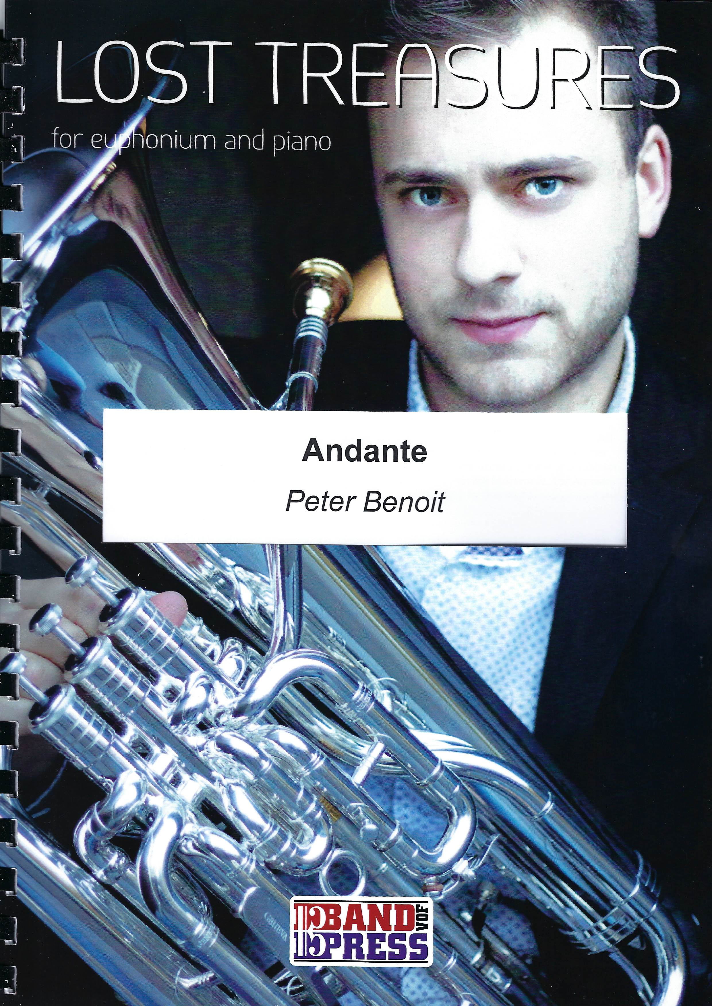 Andante - Peter Benoit - Euph and Piano (Lost Treasures Series)