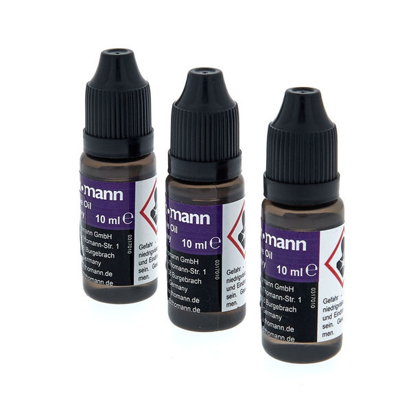 NEW!! - Thomann Valve Heavy Valve Oil (3X 10ml bottles)