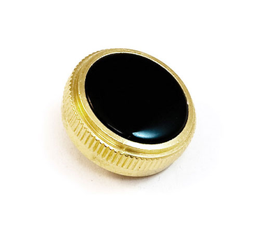 Finger button - gold plated  - with inlay, for Prestige Baritone BE2056 (1)