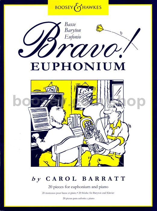 Bravo! Euphonium - Carol Barratt - 20 pieces for Euphonium and Piano