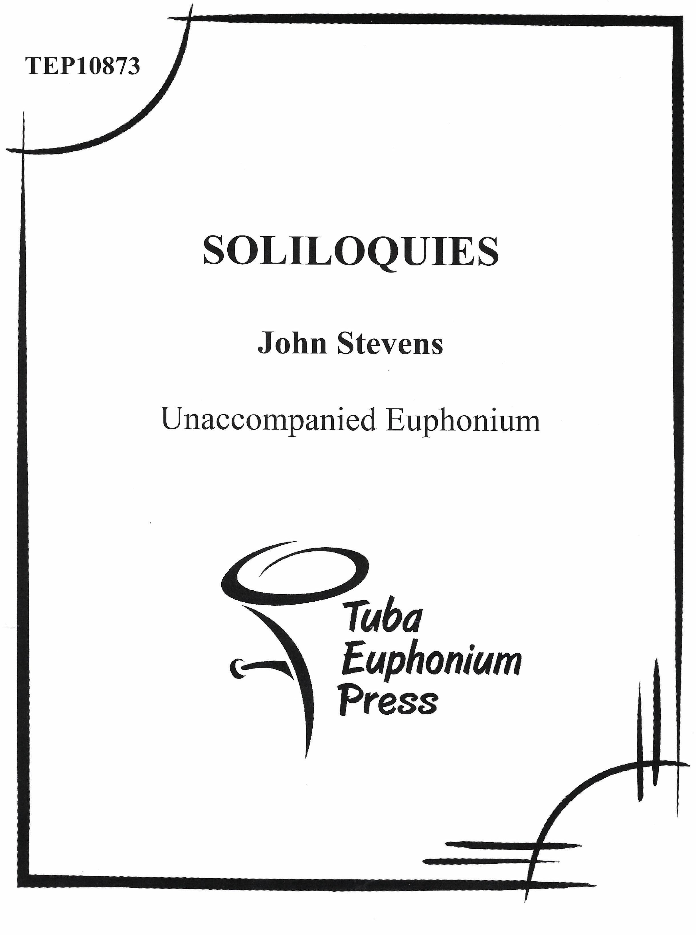 soliloquies cover