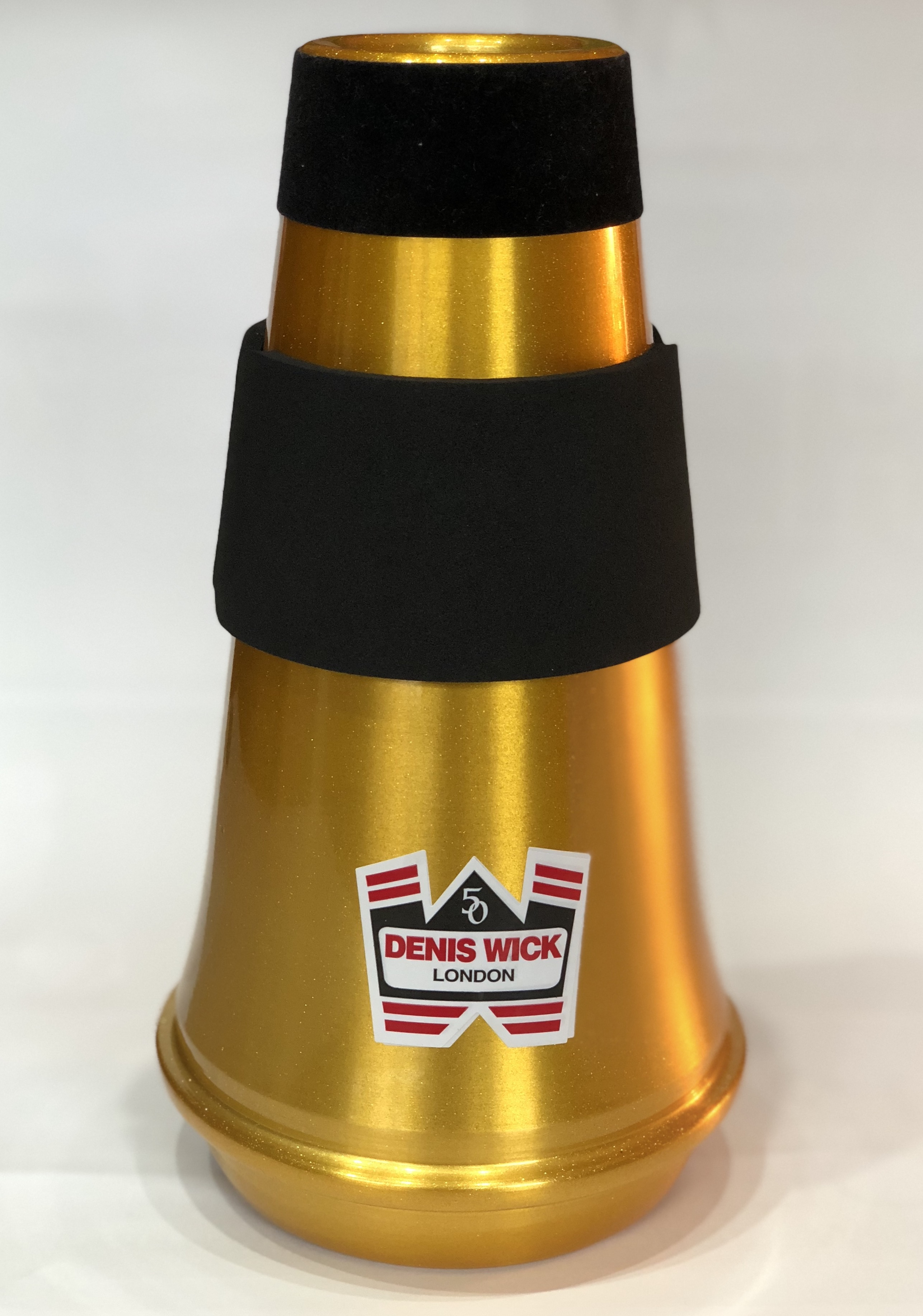 * GOLD Anniversary Wick SM Travel Mute for Euphonium * - Limited Edition