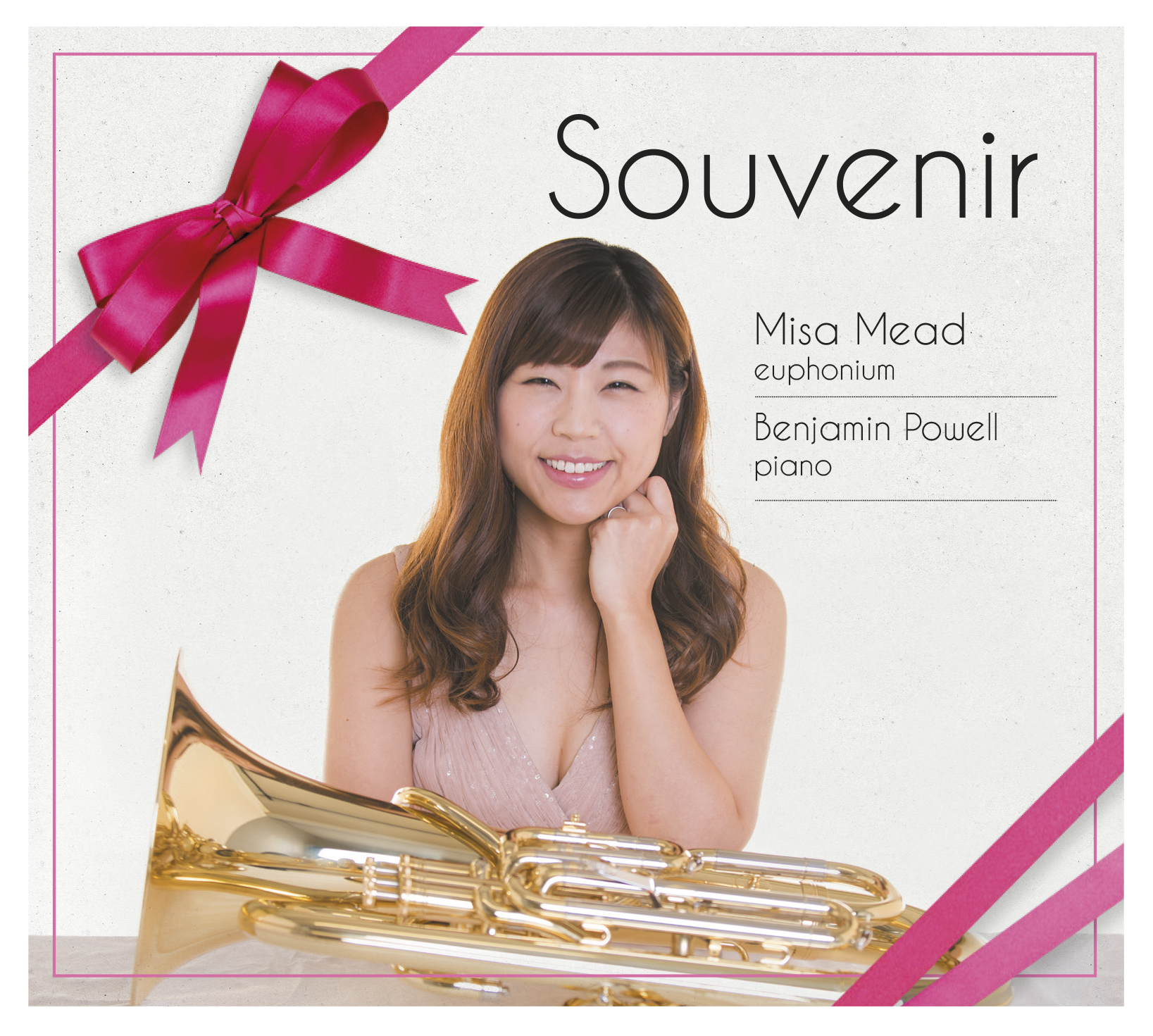 CD - Souvenir - Misa Mead and Benjamin Powell