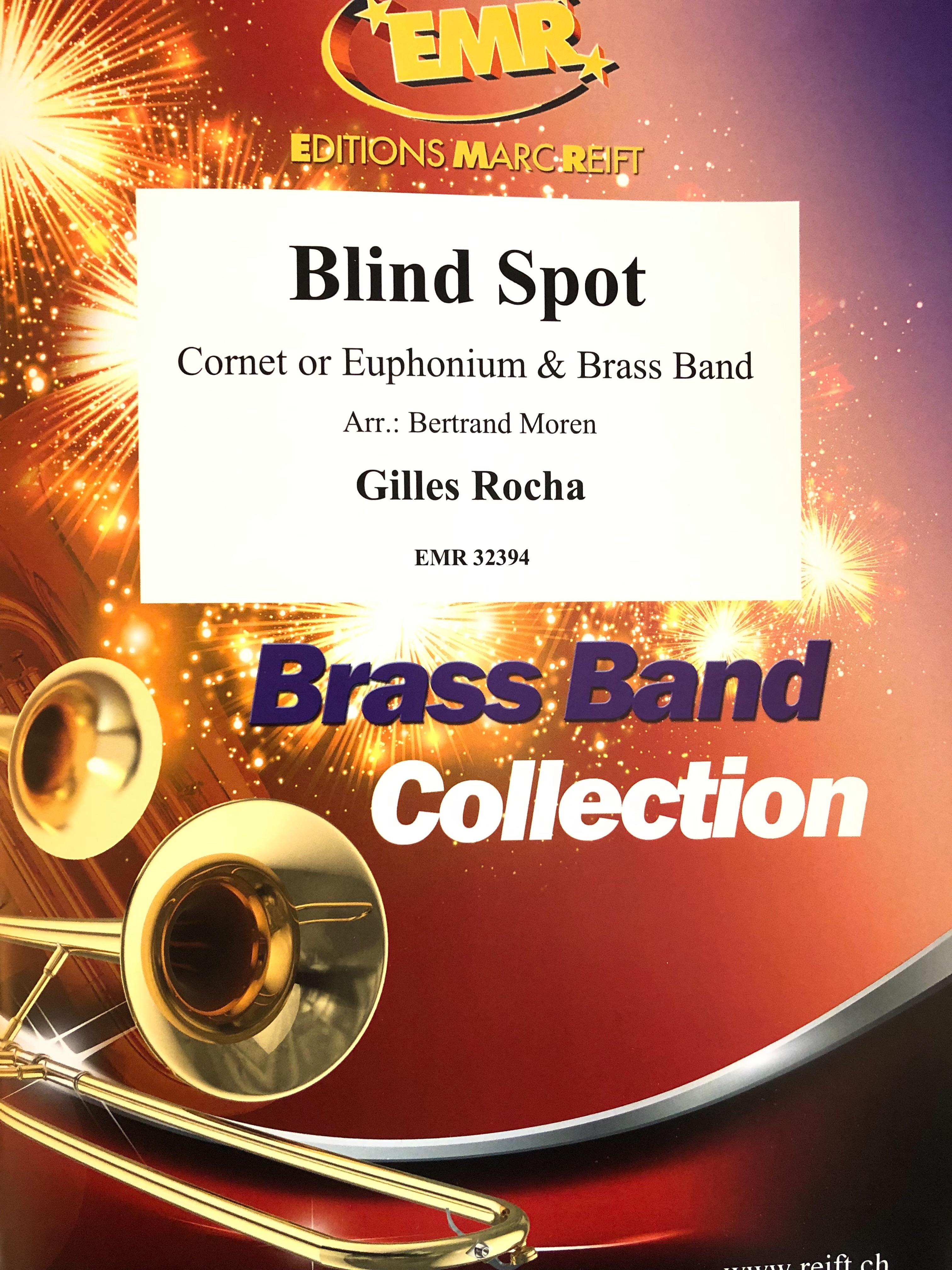 Blind Spot - Gilles Rocha -  Euphonium and Brass Band