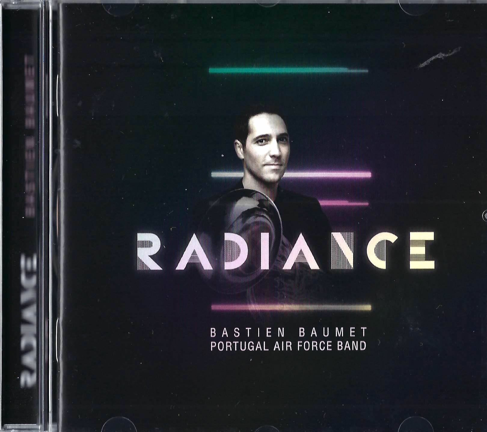 CD - Radiance - Bastien Baumet - Portugal Air Force Band