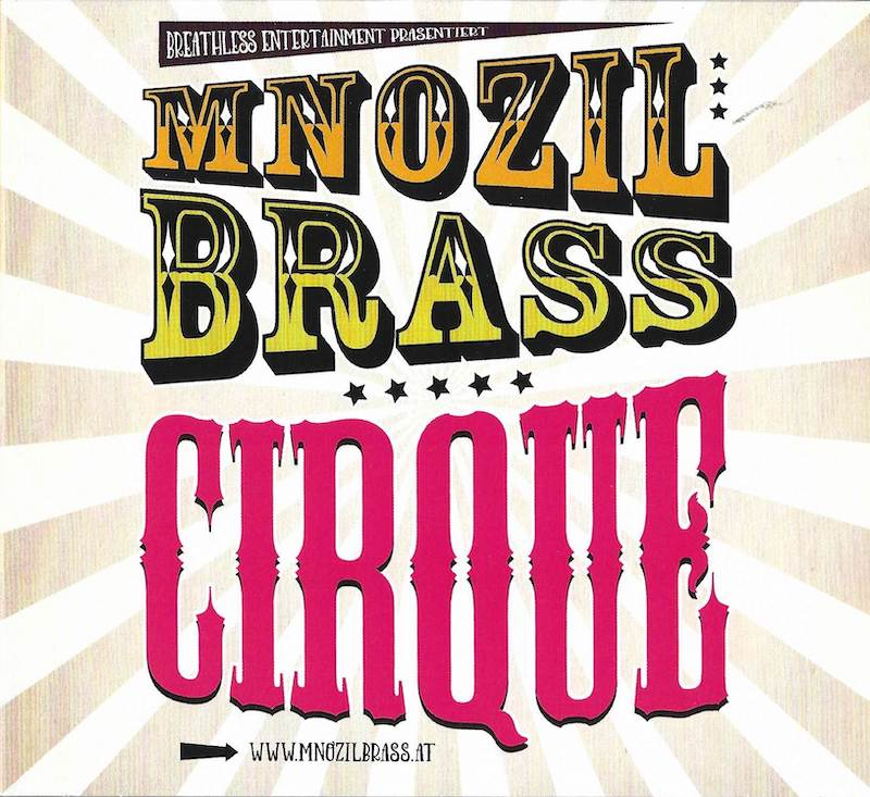 CD - CIRQUE - Mnozil Brass
