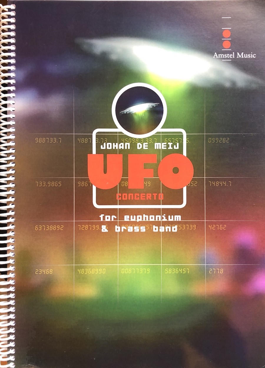 UFO Concerto - Johan de Meij - Euphonium and Brass Band