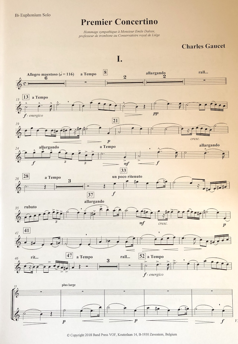 Pantomime - Philip Sparke - Euphonium and Piano