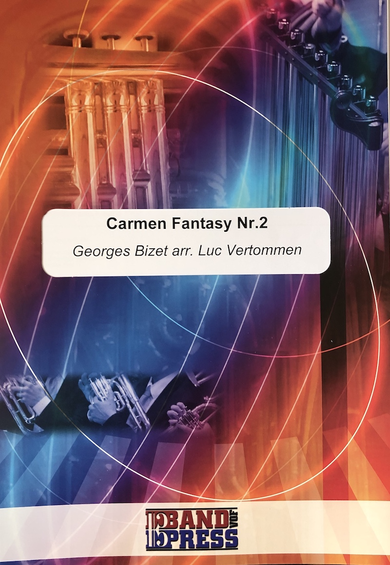 Carmen Fantasy No.2 - Bizet Arr Vertommen - Euphonium and Piano