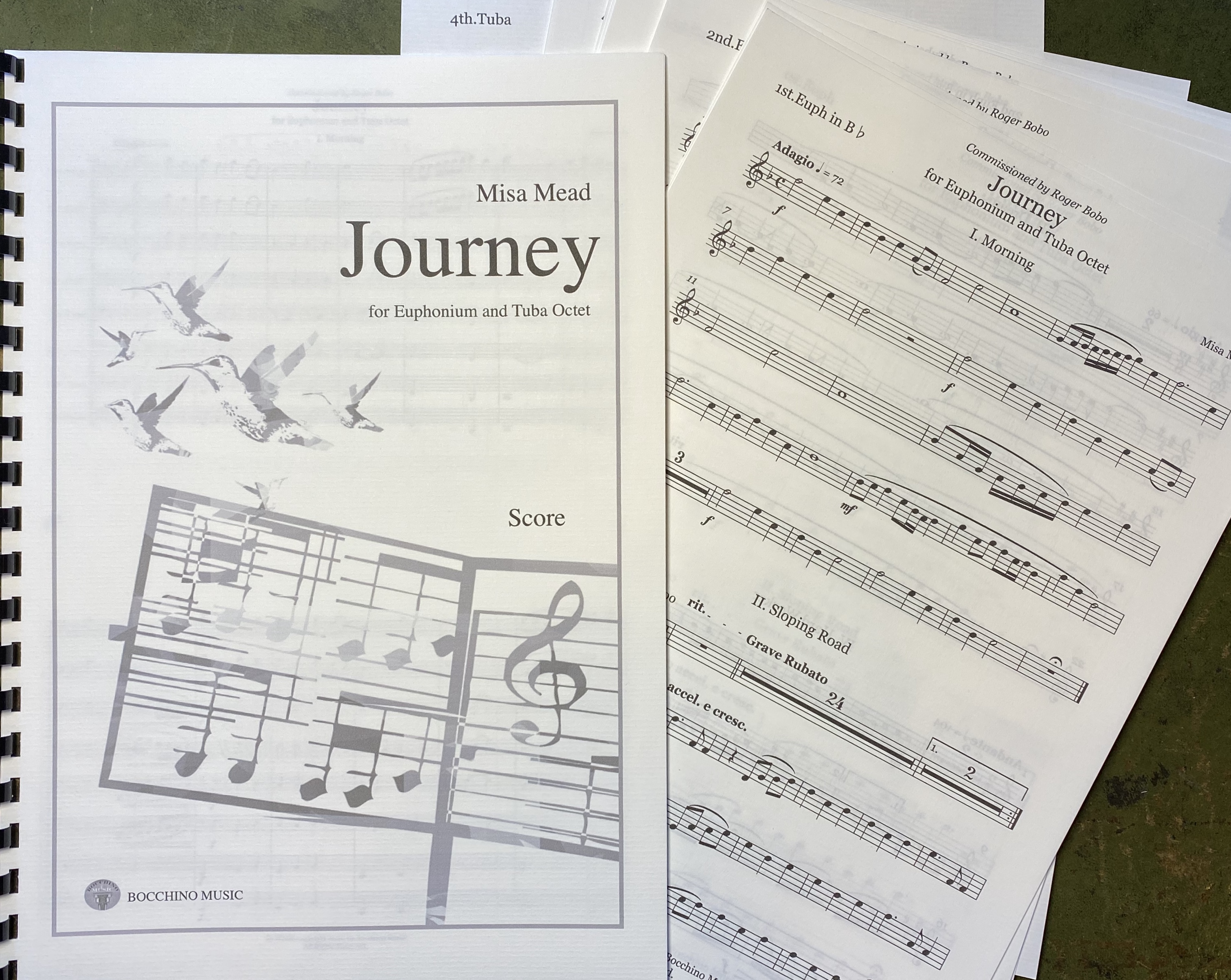 Digital Download - Journey - Misa Mead - Tuba Octet