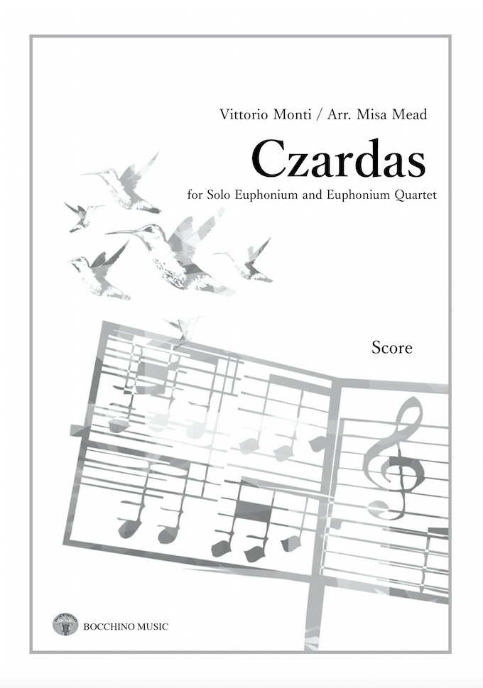 Digital Download - Czardas - Misa Mead - solo euphonium and quartet