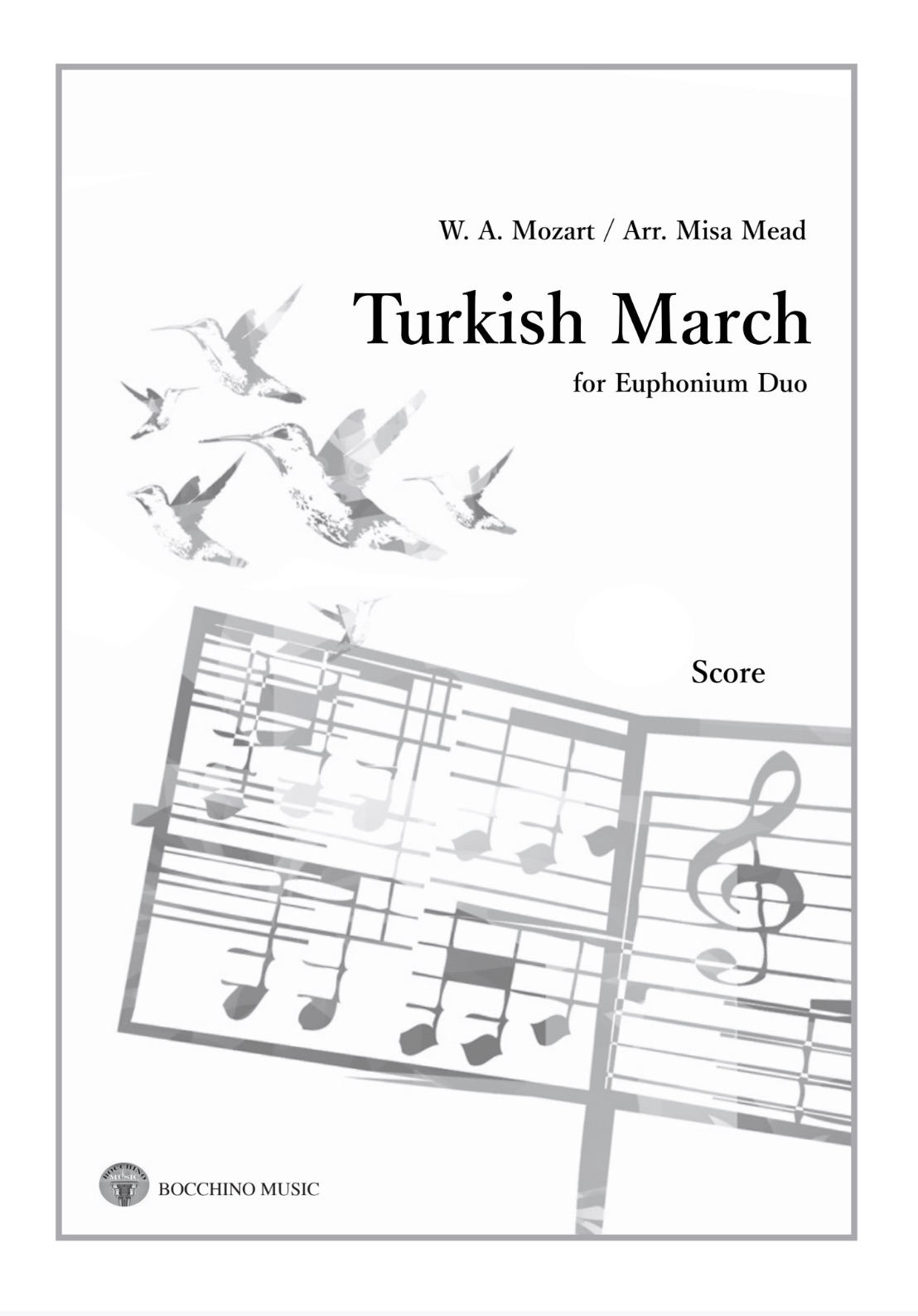 Digital Downland - Turkish March - Mozart Arr. Misa Mead - Euphonium Duo
