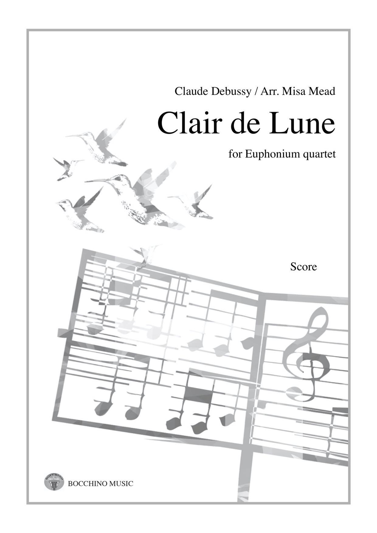 Clair de Lune - Debussy Arr. Misa Mead - Euphonium Quartet