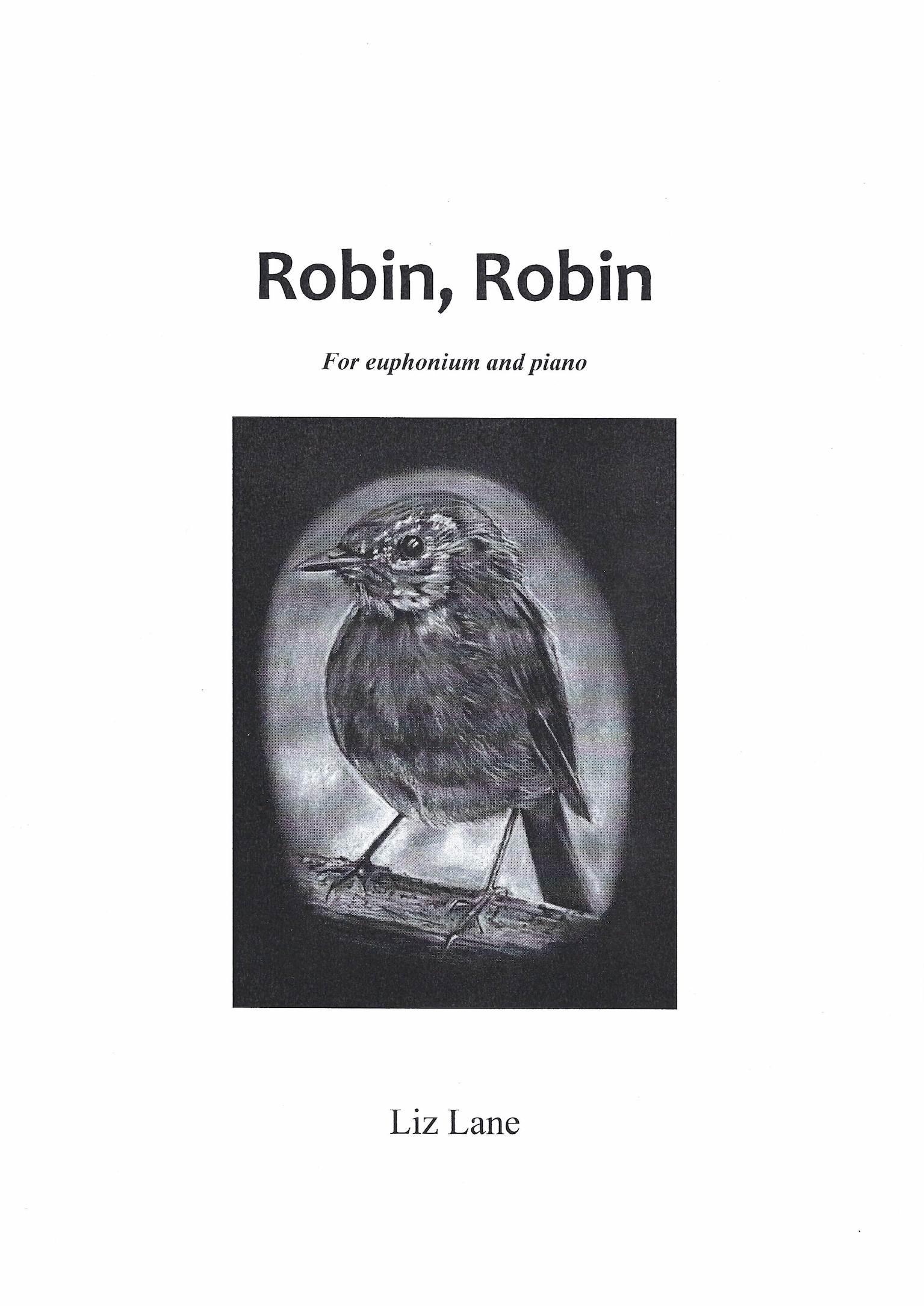 Robin Robin - Liz Lane - Euphonium and Piano (TC solo part)