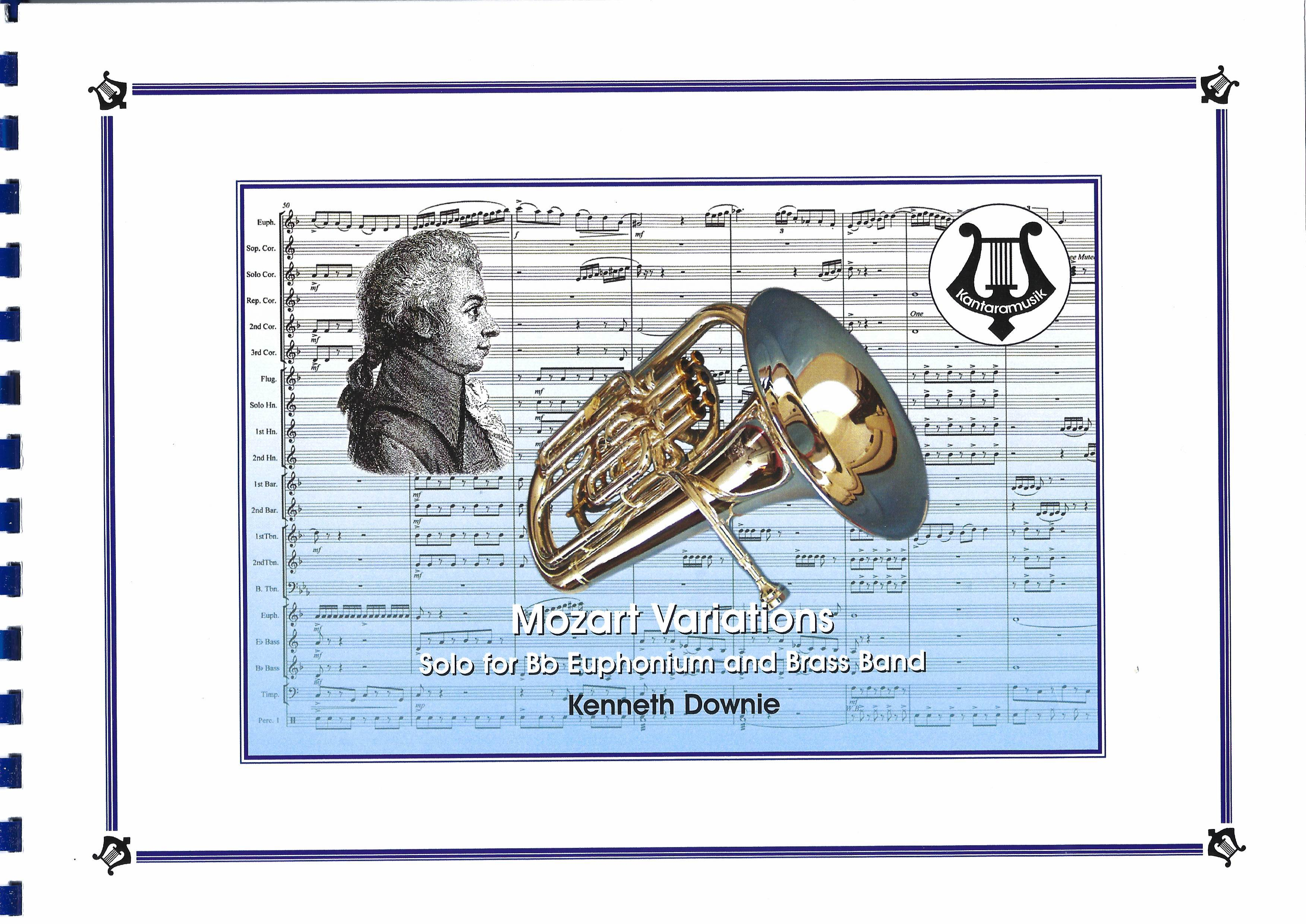 Mozart Variations - Kenneth Downie - Euphonium and Brass Band
